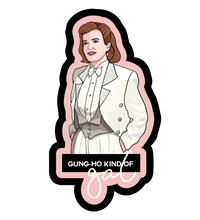 Load image into Gallery viewer, star trek stickers — gung-ho janeway