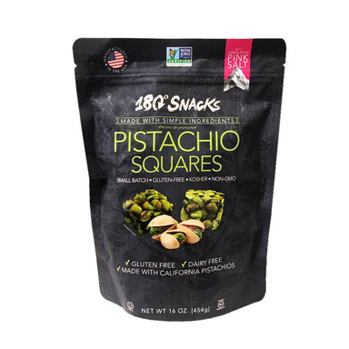 180 Snacks Pistachio Squares, 16 Ounce 180 Snacks