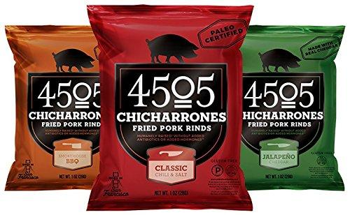4505 Pork Rinds, Certified Keto, Humanely Raised 4505 Meats