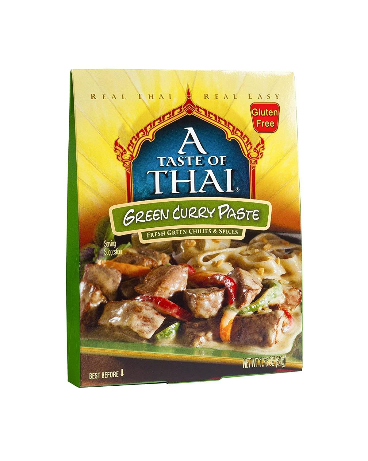 A Taste of Thai Curry Pastes A Taste of Thai Green 1.75 Ounce