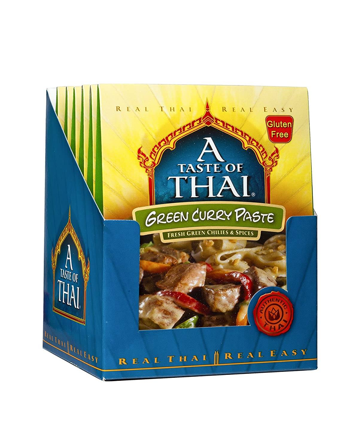A Taste of Thai Curry Pastes A Taste of Thai Green 1.75 Oz-6 Count