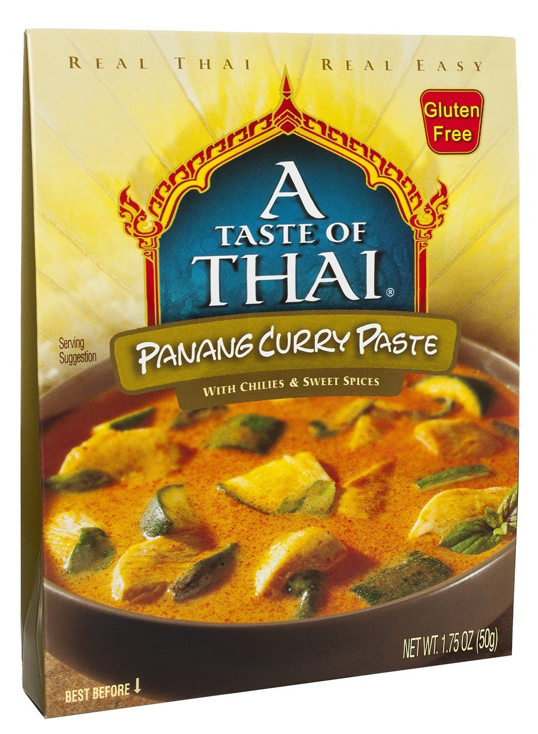 A Taste of Thai Curry Pastes A Taste of Thai Panang 1.75 Ounce