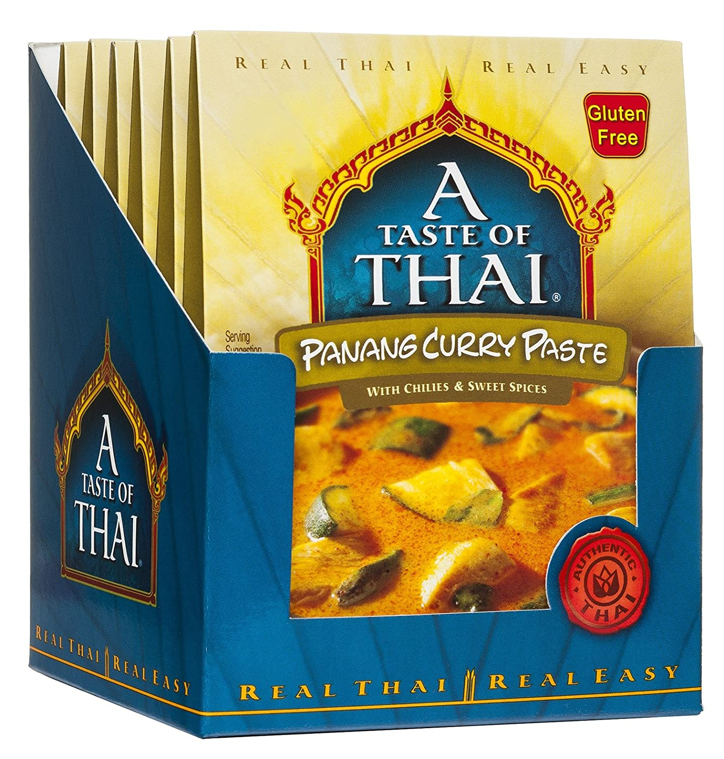 A Taste of Thai Curry Pastes A Taste of Thai Panang 1.75 Oz-6 Count