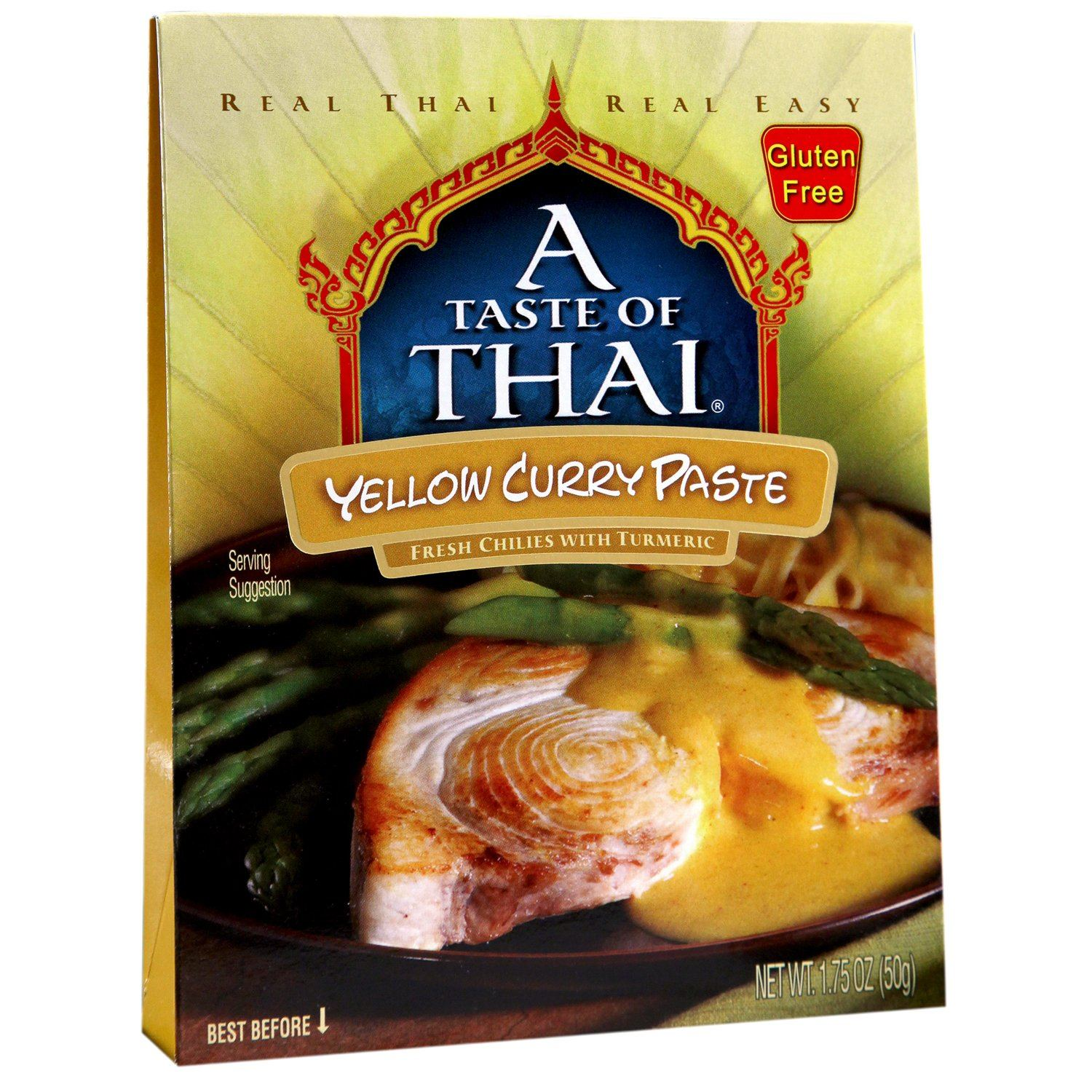 A Taste of Thai Curry Pastes A Taste of Thai Yellow 1.75 Ounce