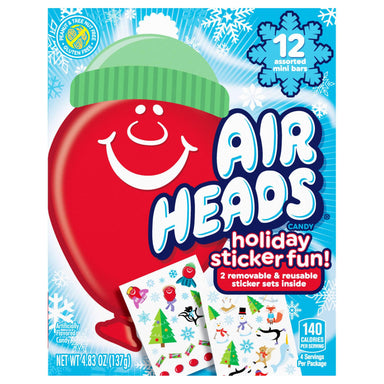 Airheads Minis Holiday Sticker Book Airheads 4.8 Ounce