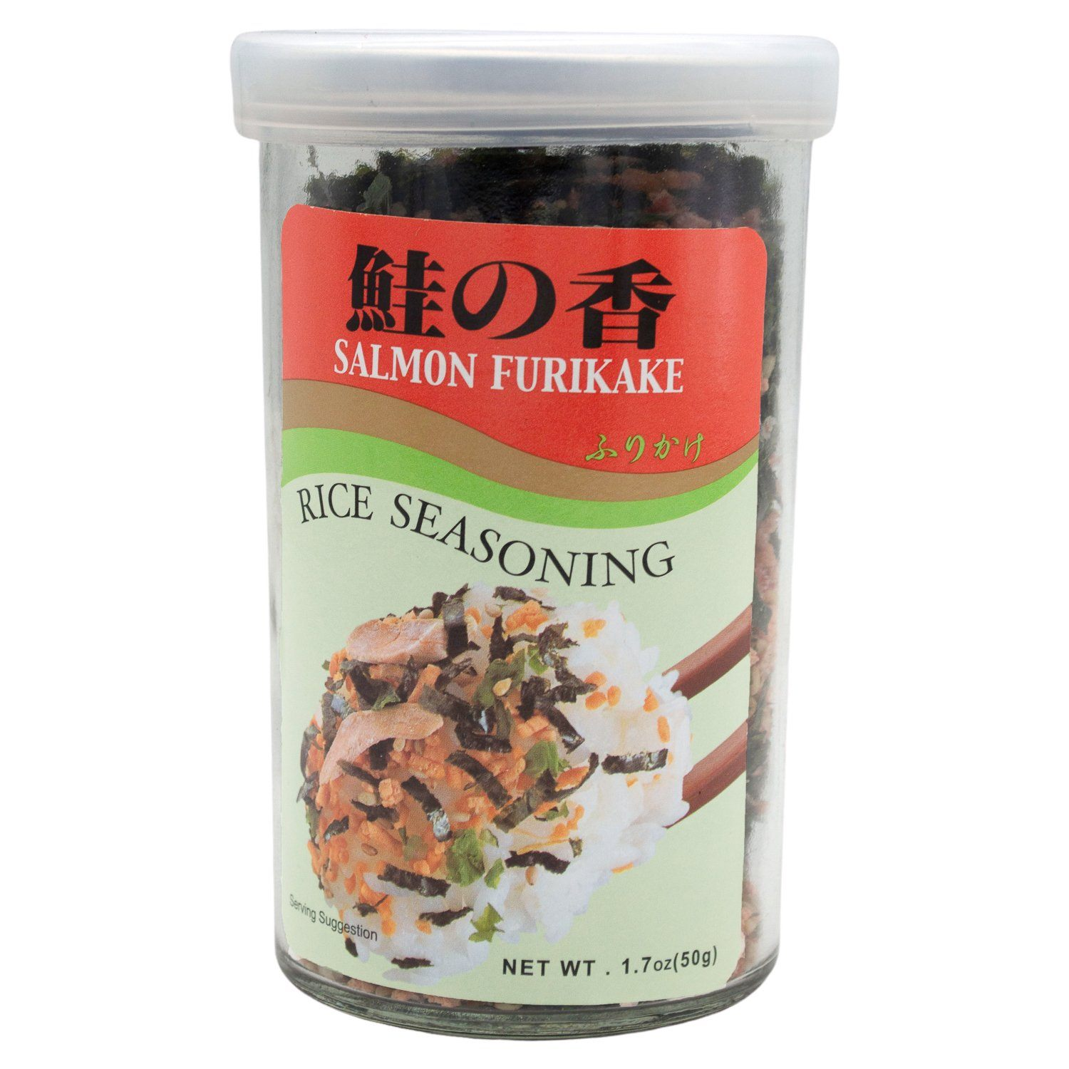 Ajishima Rice Seasoning, Furikake Ajishima Foods Salmon 1.7 Ounce