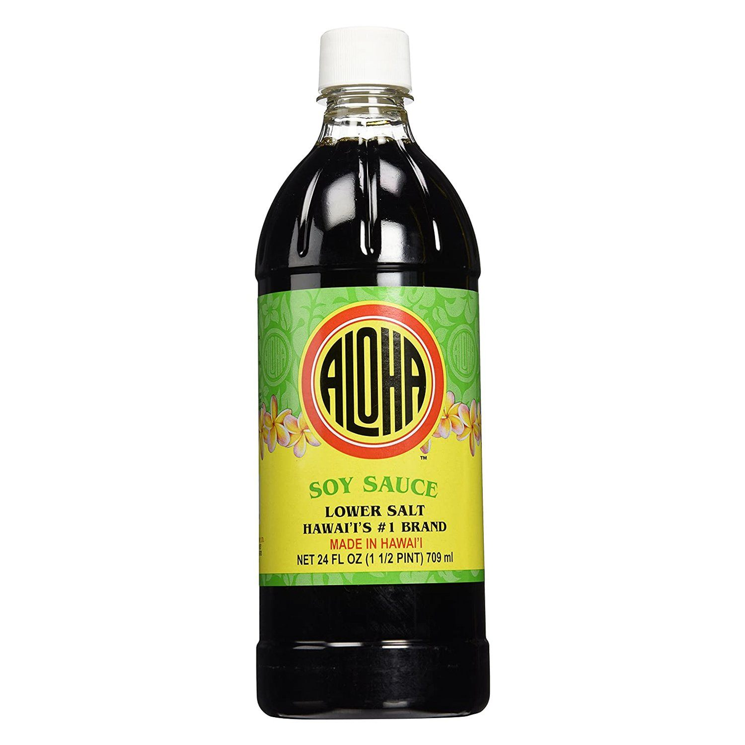 Aloha Soy Sauces Aaloha Shoyu Lower Salt 24 Fluid Ounce