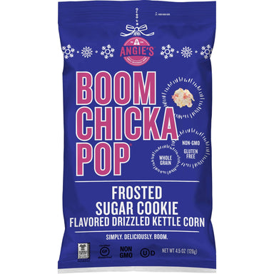 Angie's BOOMCHICKAPOP Kettle Corn Popcorn Angie's BOOMCHICKAPOP Frosted Sugar Cookie 4.5 Ounce