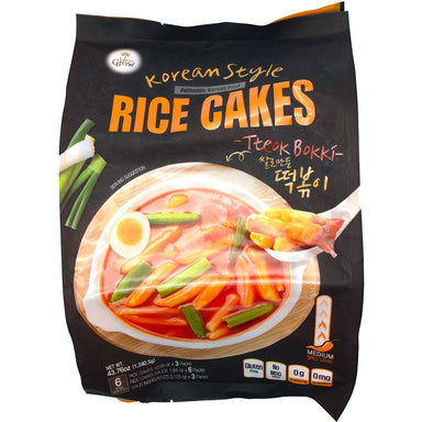 Balance Grow Authentic Korean Style Rice Cakes (Tteok Bokki) Balance Grow 43.76 Ounce