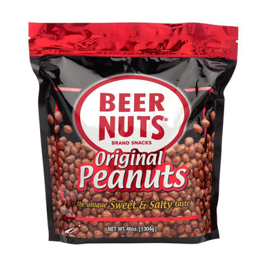 BEER NUTS Beer Nuts Original Peanuts 46 Ounce