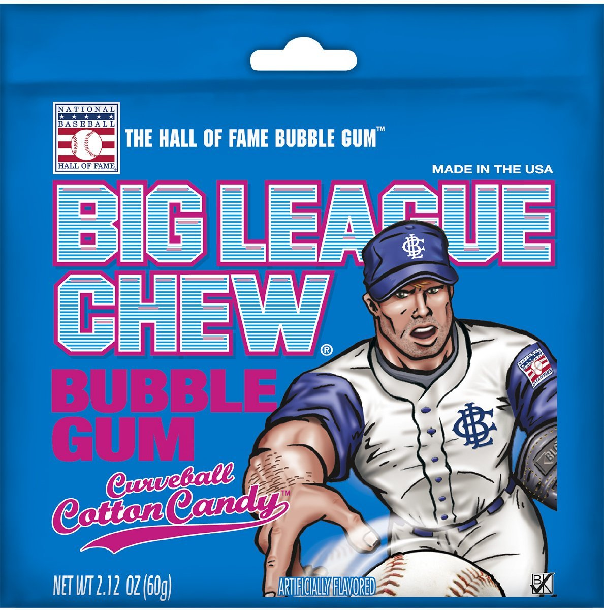 Big League Chew Bubble Gum Big League Chew Cotton Candy 2.12 Ounce