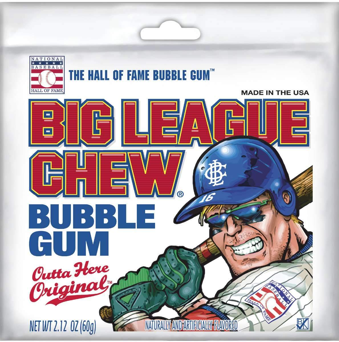 Big League Chew Bubble Gum Big League Chew Original 2.12 Ounce