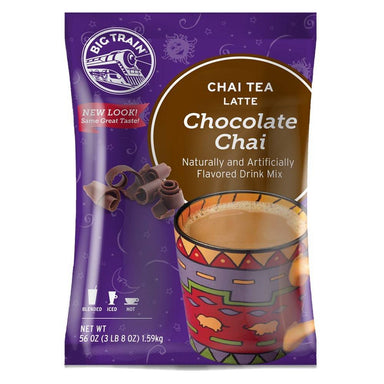 Big Train Chai Tea Mixes Big Train Chocolate 56 Ounce