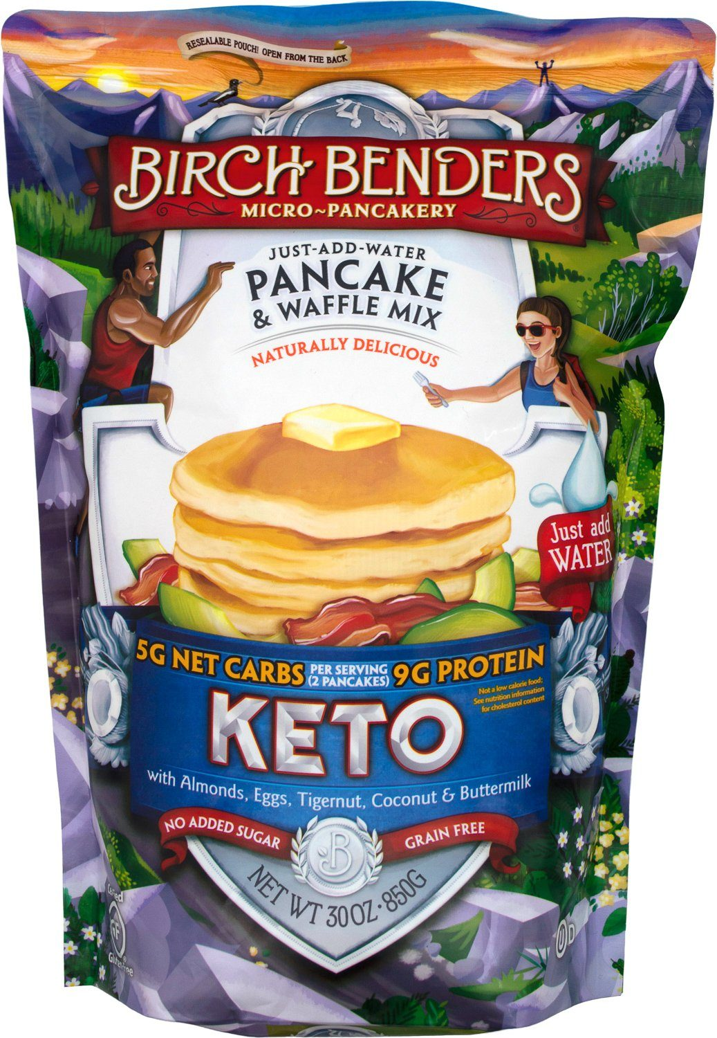 Birch Benders Keto Pancake & Waffle Mix Birch Benders 30 Ounce