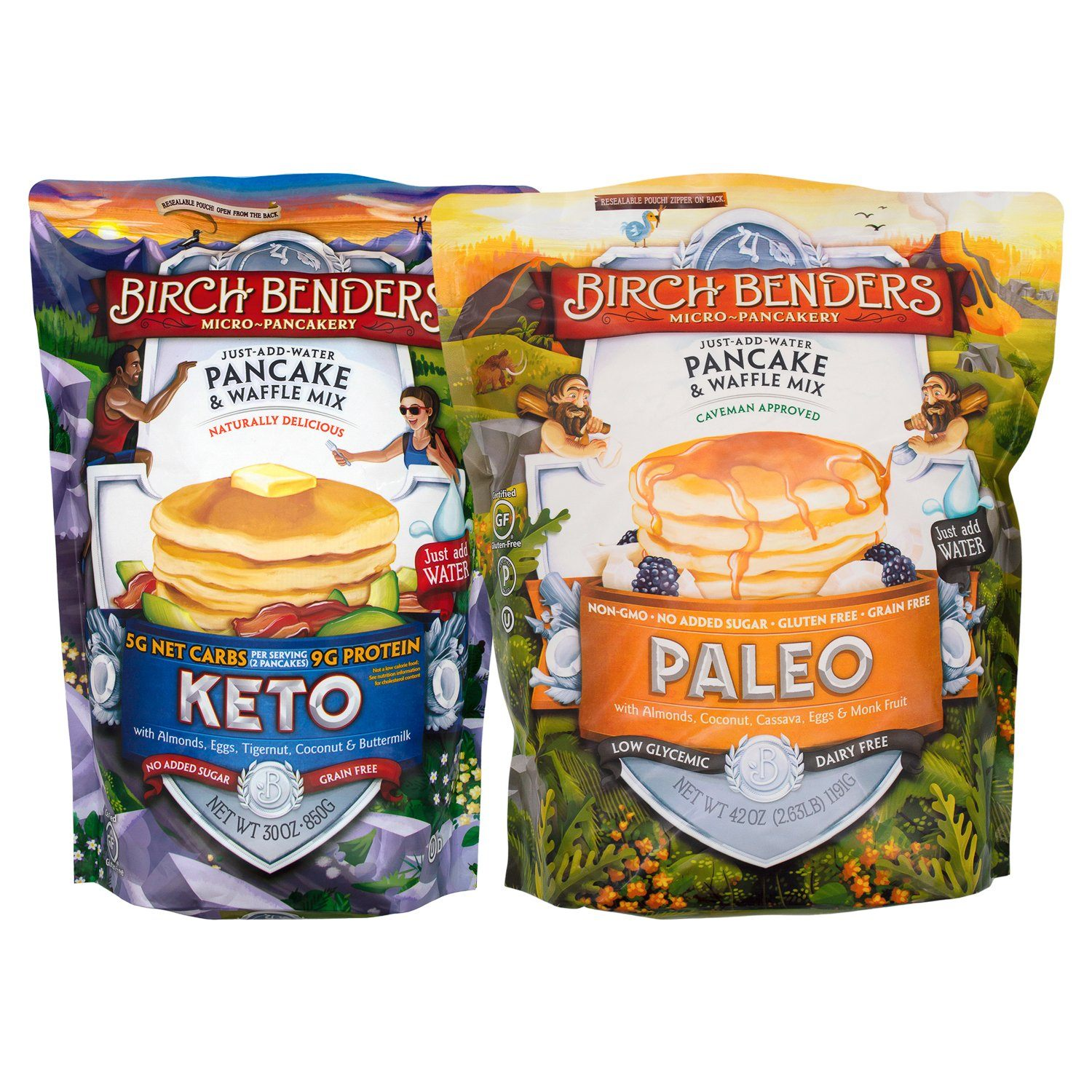 Birch Benders Pancake & Waffle Mix Birch Benders