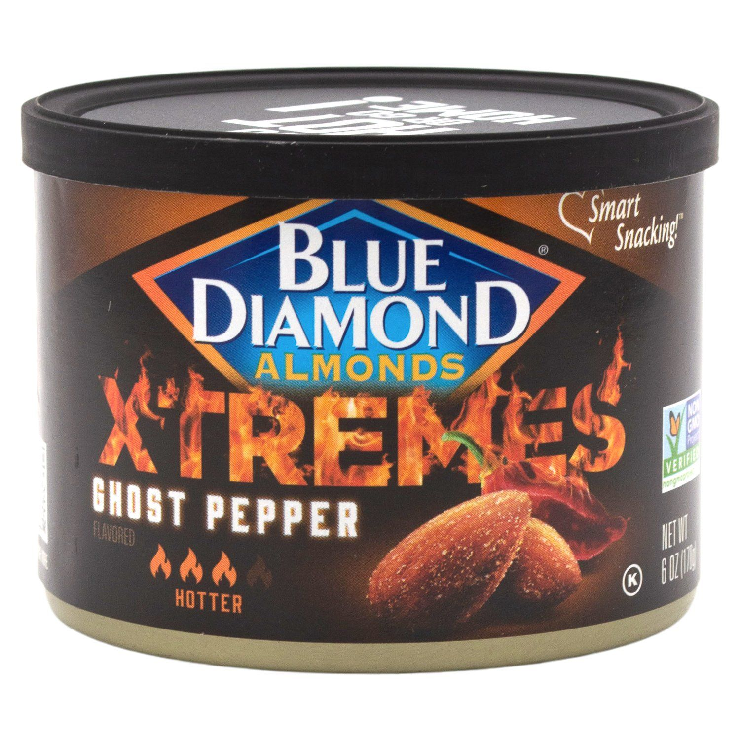 Blue Diamond Almonds Xtremes Blue Diamond Almonds Ghost Pepper 6 Ounce