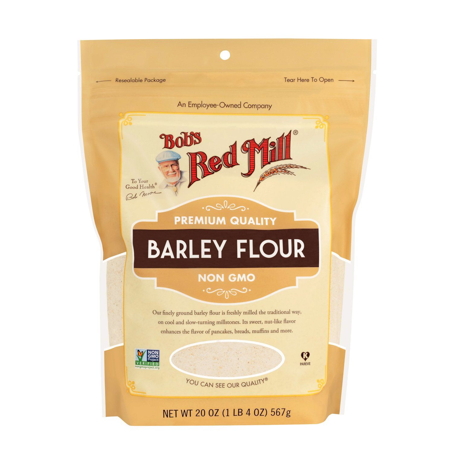 Bob's Red Mill Barley Flour Bob's Red Mill 20 Ounce