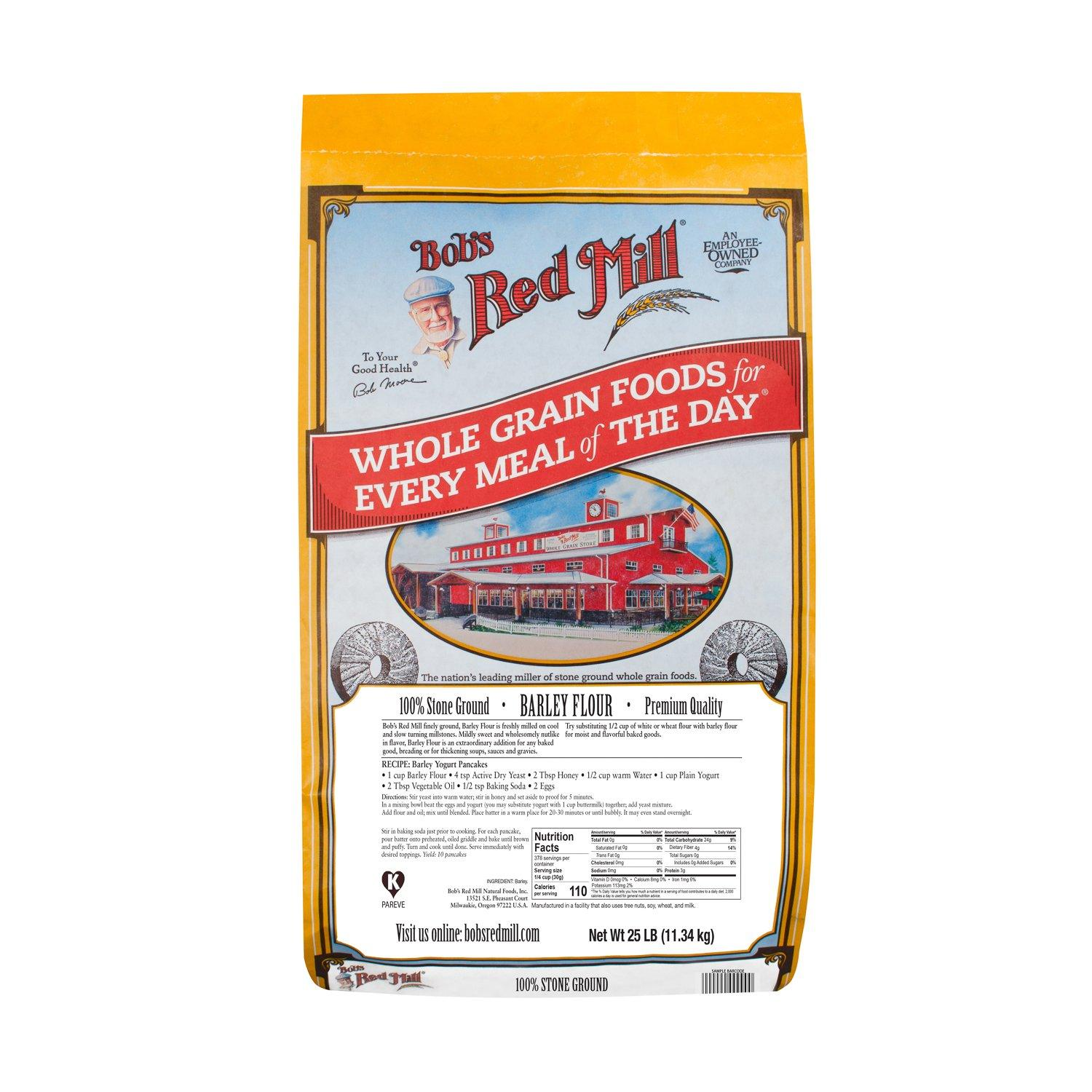 Bob's Red Mill Barley Flour Bob's Red Mill 25 Pound