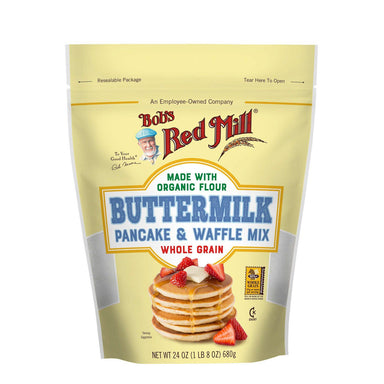 Bob's Red Mill Buttermilk Pancake and Waffle Mix Bob's Red Mill 24 Ounce
