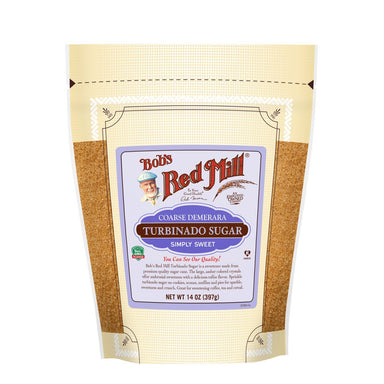 Bob's Red Mill Coarse Turbinado Sugar Bob's Red Mill 14 Ounce