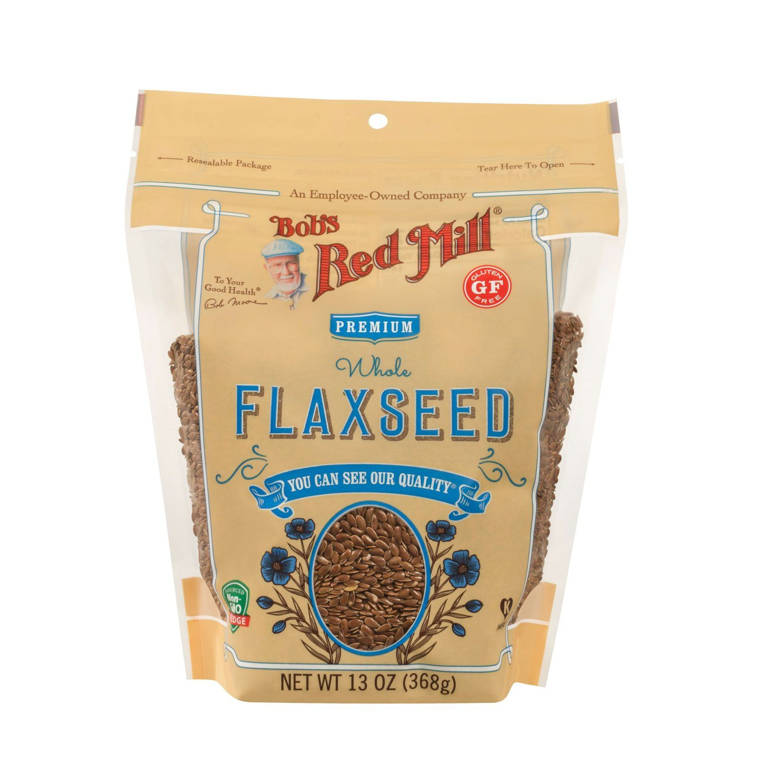 Bob's Red Mill Flaxseed Bob's Red Mill Brown 13 Ounce