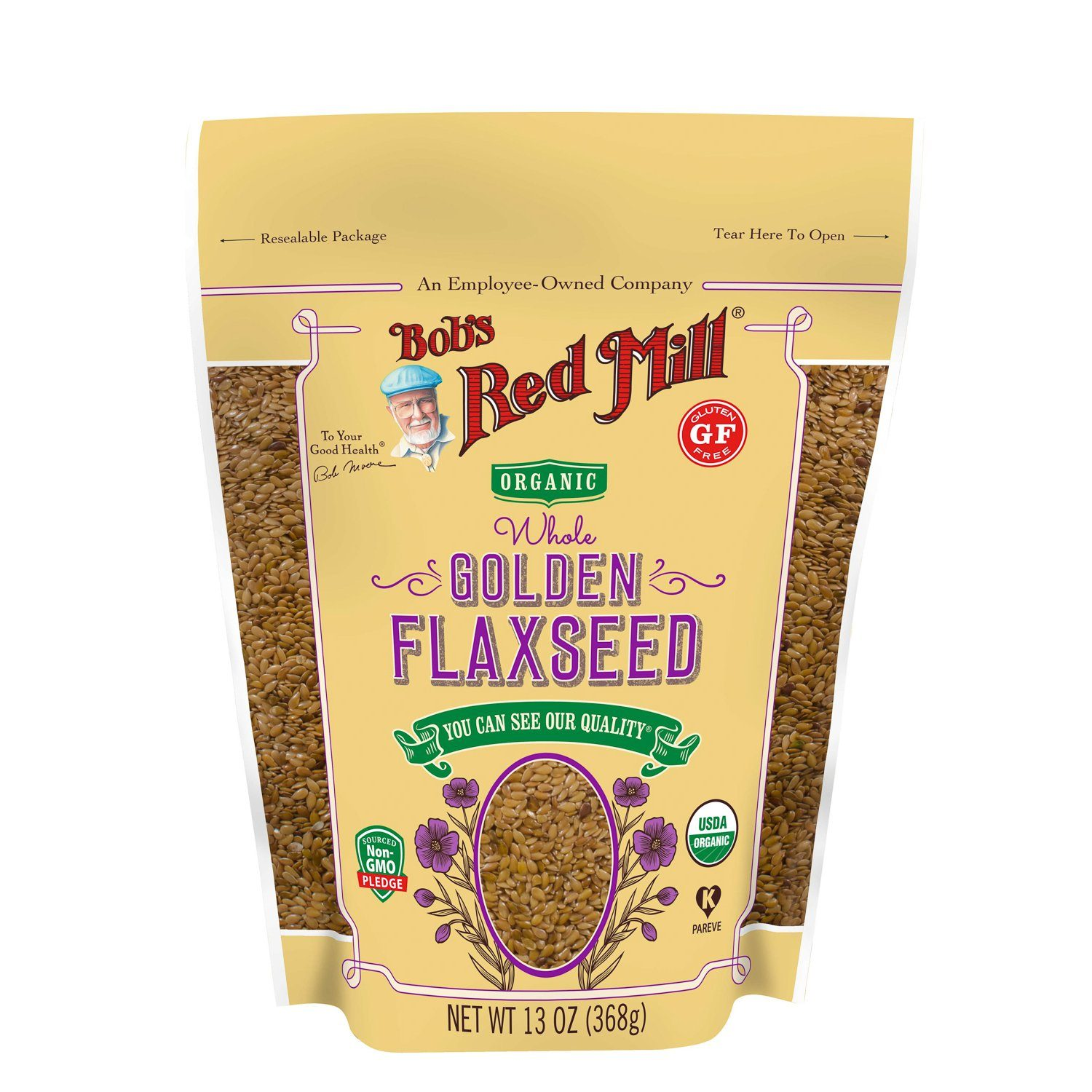Bob's Red Mill Flaxseed Bob's Red Mill Organic Golden 13 Ounce