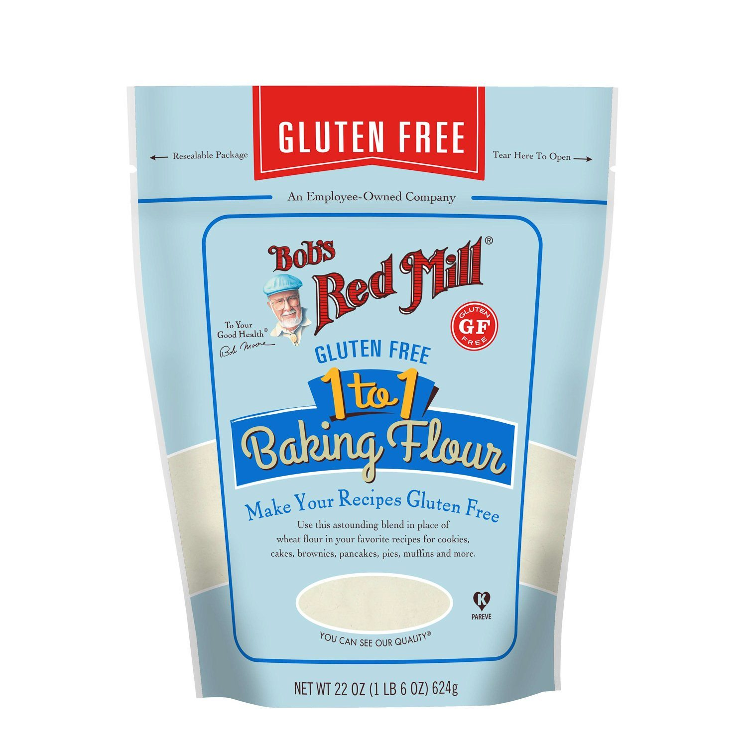 Bob's Red Mill Gluten Free 1-to-1 Baking Flour Bob's Red Mill 22 Ounce