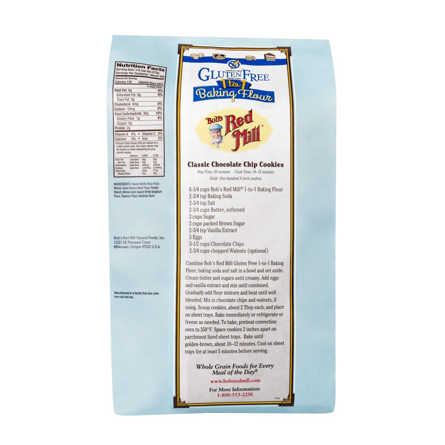 Bob's Red Mill Gluten Free 1-to-1 Baking Flour Bob's Red Mill