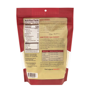 Bob's Red Mill Gluten Free All Purpose Baking Flour Bob's Red Mill