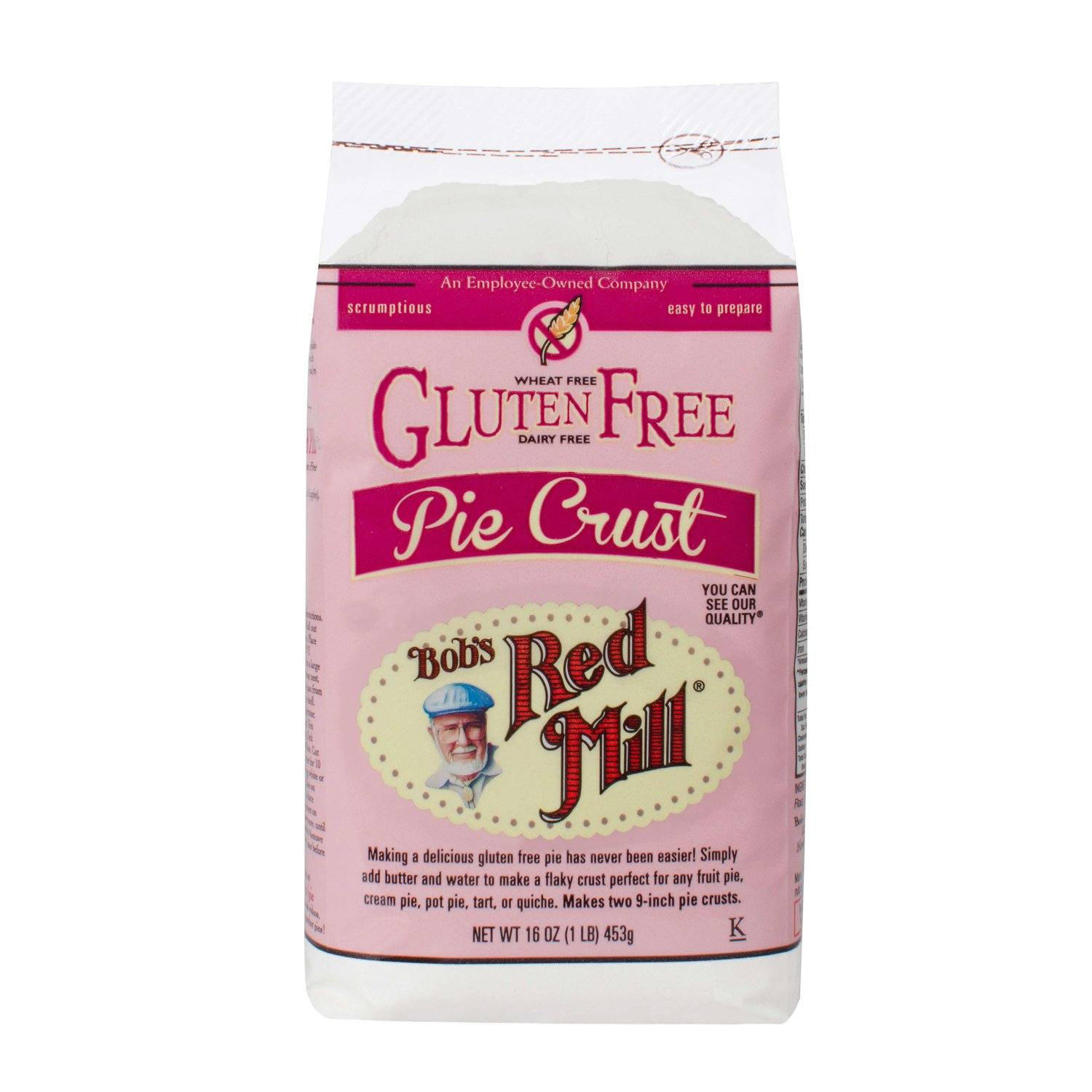 Bob's Red Mill Gluten Free Pie Crust Mix Bob's Red Mill 16 Ounce