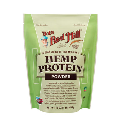 Bob's Red Mill Hemp Protein Powder Bob's Red Mill 16 Ounce