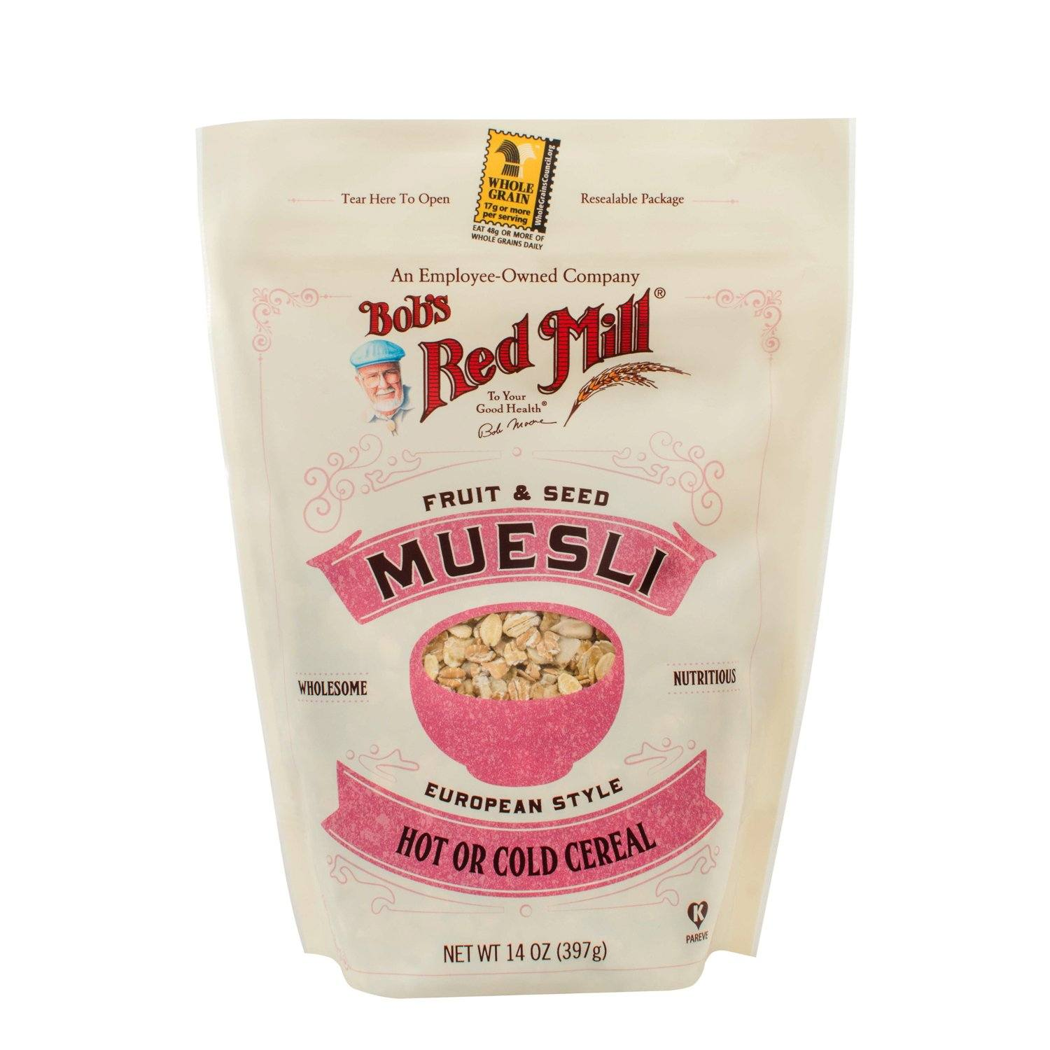 Bob's Red Mill Muesli Bob's Red Mill Fruit and Seed 14 Ounce