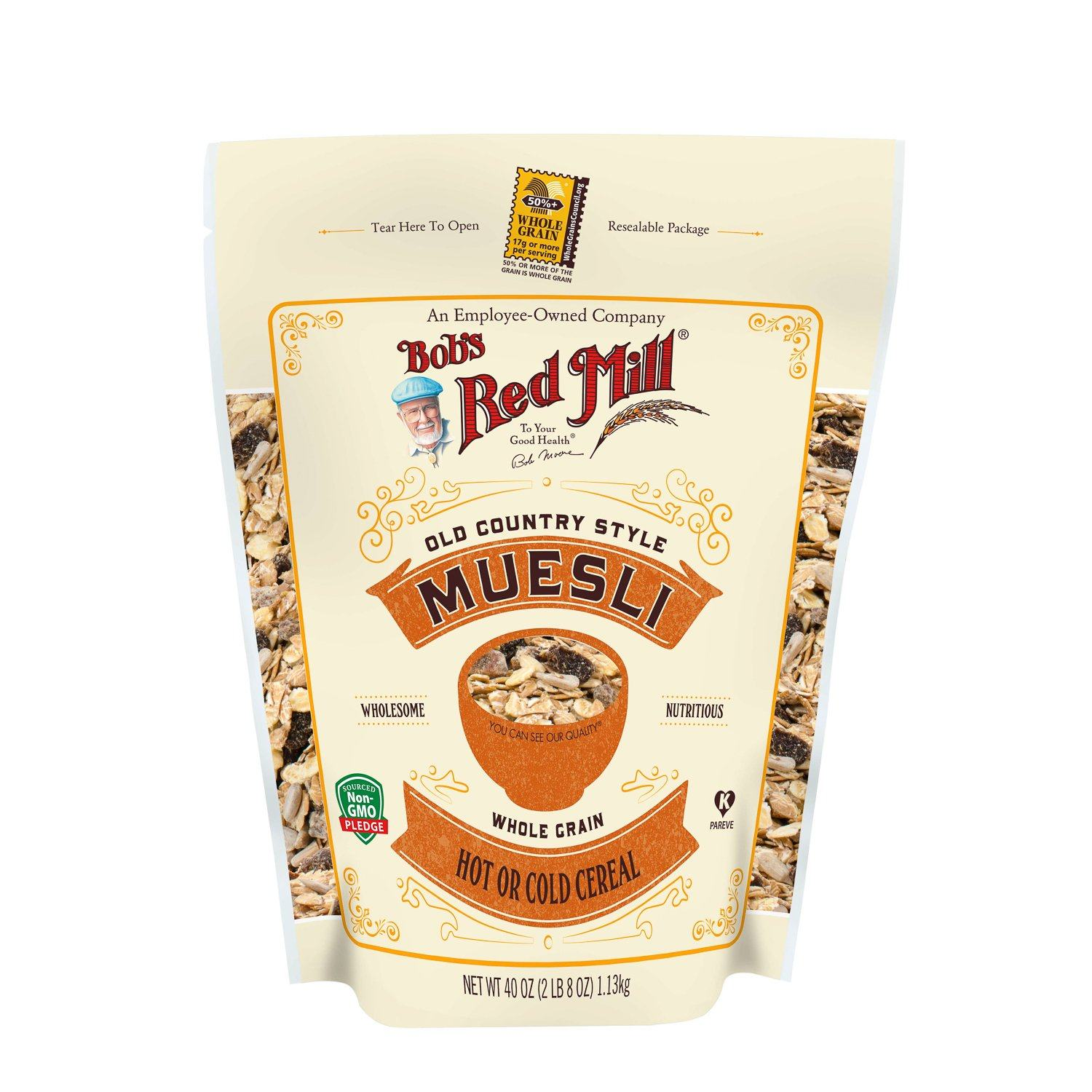 Bob's Red Mill Muesli Bob's Red Mill Old Country Style 40 Ounce