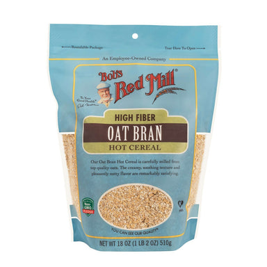 Bob's Red Mill Oat Bran Cereal Bob's Red Mill Regular 18 Ounce