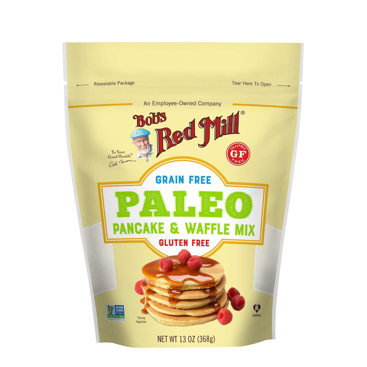 Bob's Red Mill Paleo Pancake and Waffle Mix Bob's Red Mill 13 Ounce