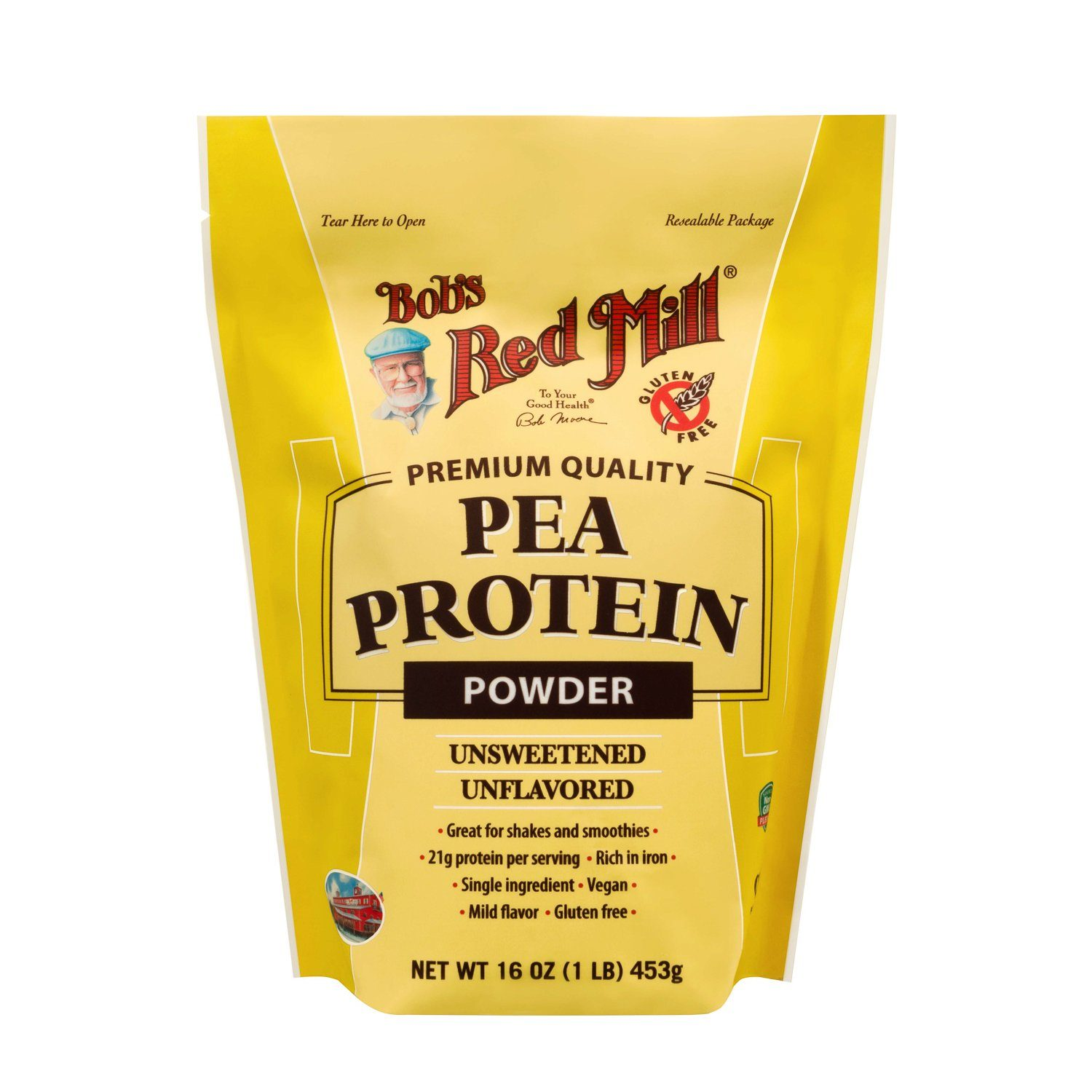 Bob's Red Mill Pea Protein Powder Bob's Red Mill 16 Ounce