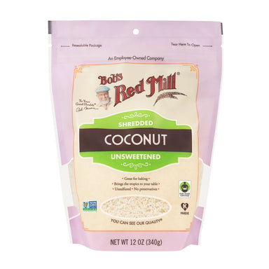 Bob's Red Mill Shredded Coconut Bob's Red Mill 12 Ounce