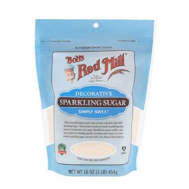 Bob's Red Mill Sparkling Sugar Bob's Red Mill 16 Ounce