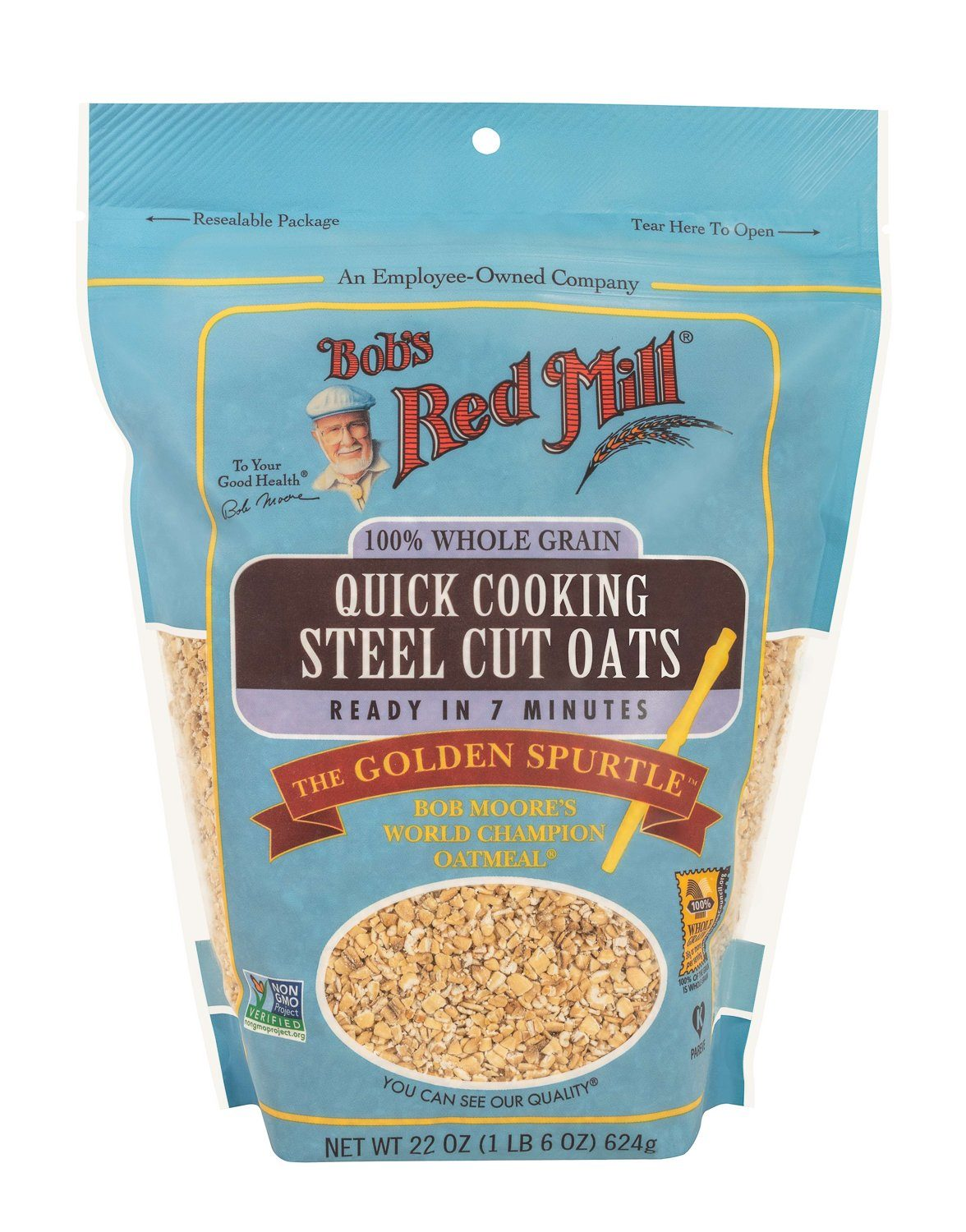 Bob's Red Mill Steel Cut Oats Bob's Red Mill Quick Cooking 22 Ounce