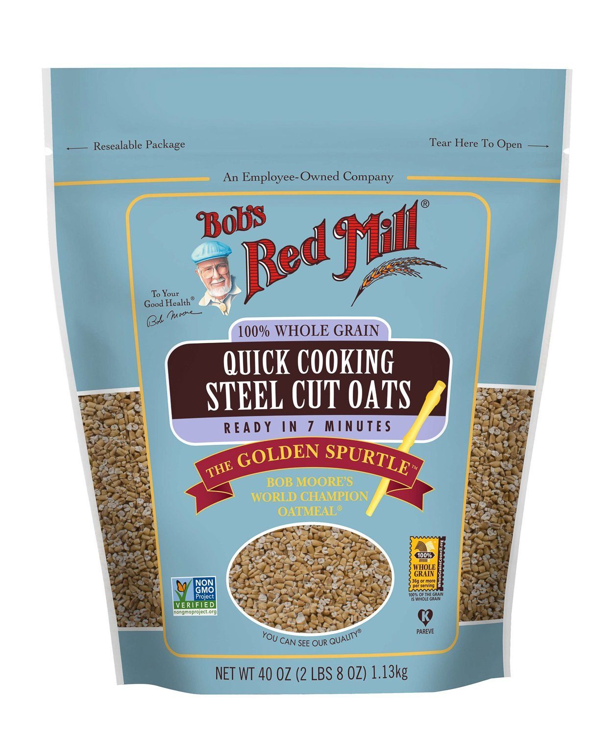Bob's Red Mill Steel Cut Oats Bob's Red Mill Quick Cooking 40 Ounce