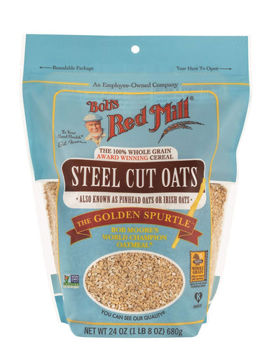 Bob's Red Mill Steel Cut Oats Bob's Red Mill Regular 24 Ounce