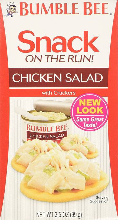 Bumble Bee Snack on the Run Bumble Bee Chicken Salad 3.5 Ounce