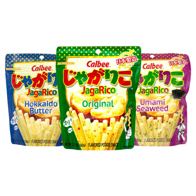 Calbee Jagarico Flavored Potato Snacks Calbee