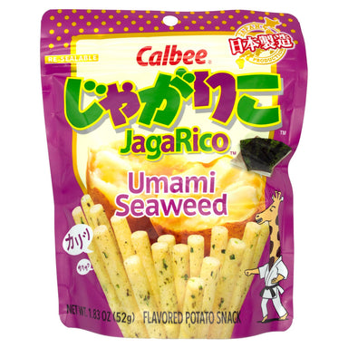 Calbee Jagarico Flavored Potato Snacks Calbee Umami Seaweed 1.83 Ounce