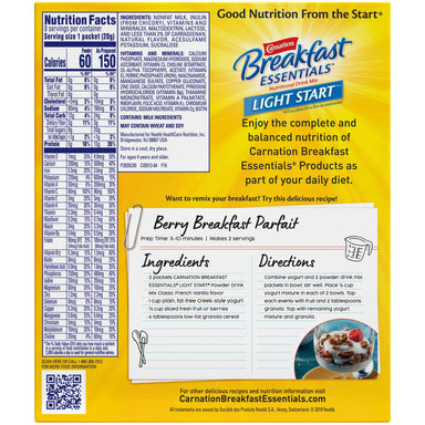 Carnation Breakfast Essentials Drink Mix Nestle