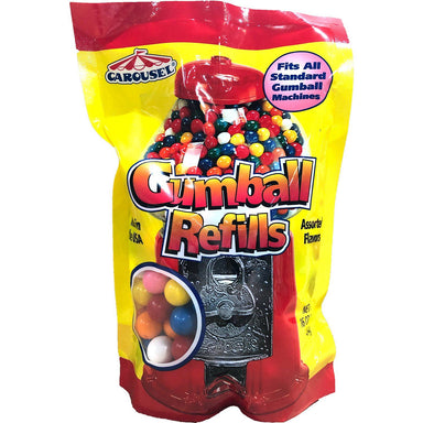 Carousel Gumball Machines and Refills Ford Gum & Machine Gumball Refill 16 Ounce