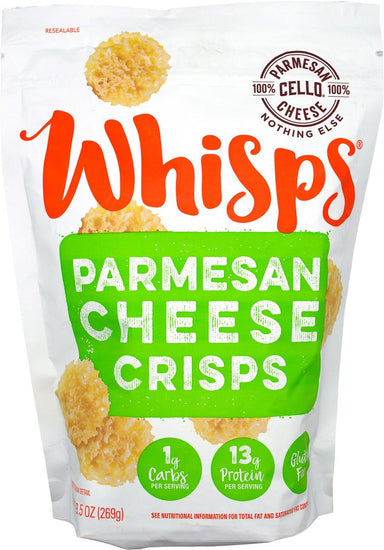 Cello Whisps Cheese Crisps Cello Parmesan 9.5 Ounce