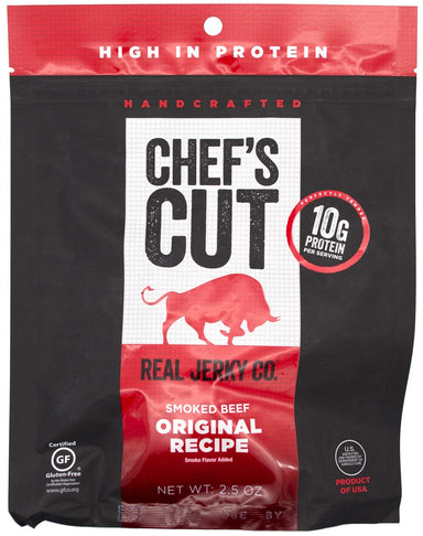 Chef's Cut Handcrafted Jerky Chef's Cut Beef Jerky Original 2.5 Ounce