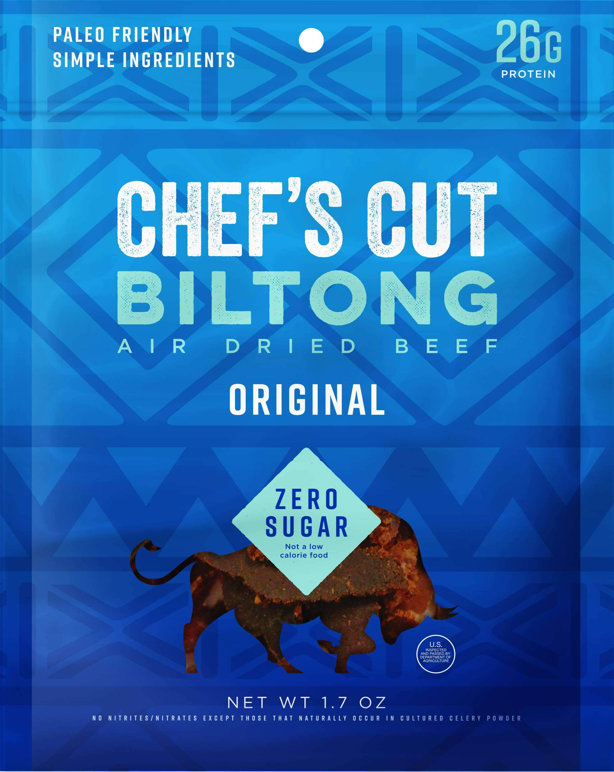 Chef's Cut Handcrafted Jerky Chef's Cut Biltong Original 1.7 Ounce