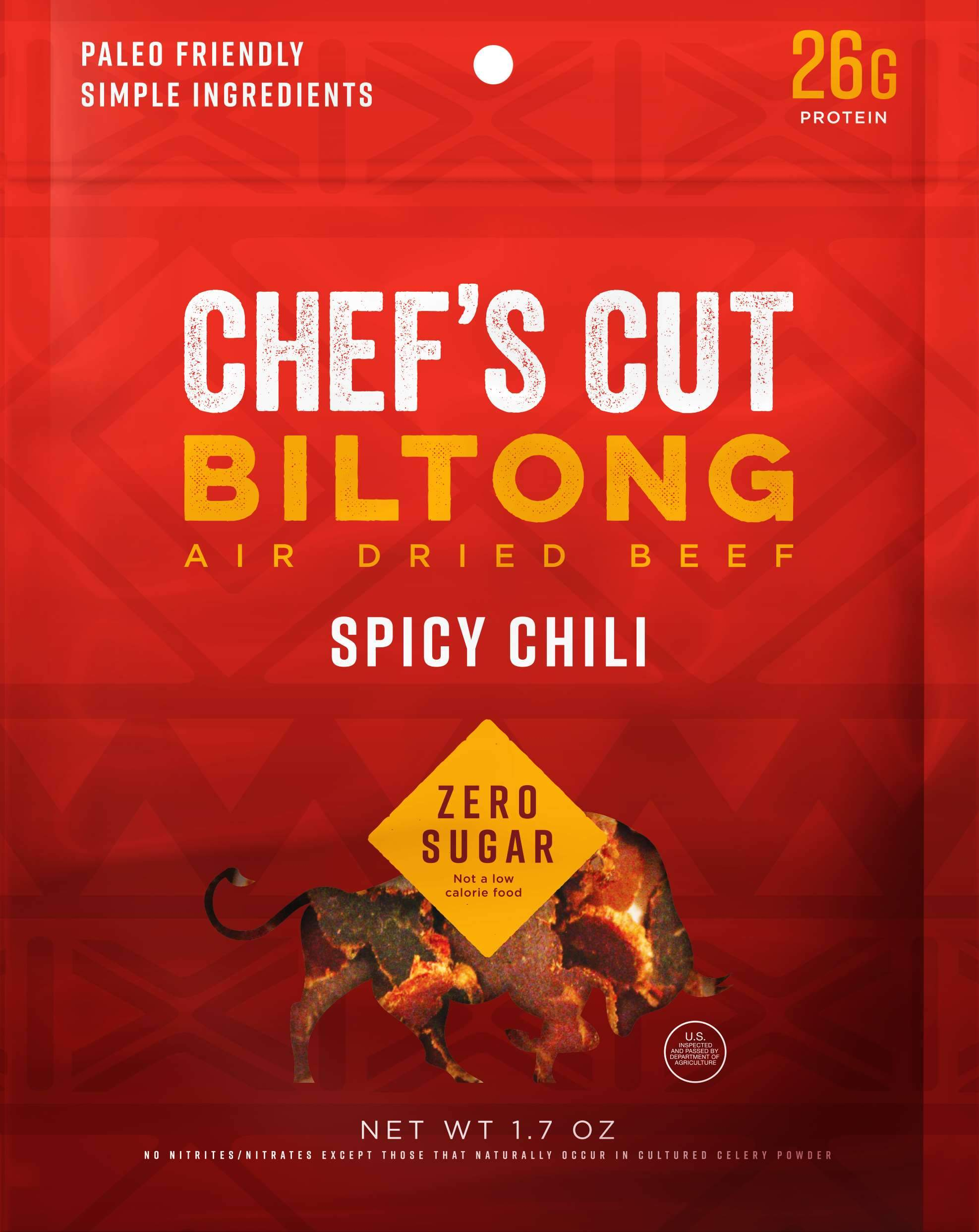 Chef's Cut Handcrafted Jerky Chef's Cut Biltong Spicy Chili 1.7 Ounce